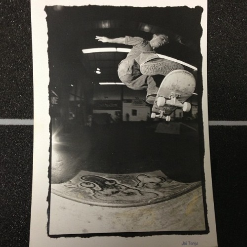 Skate photo by @iajujnat many years ago of @iamweeman somewhere in nor-cal