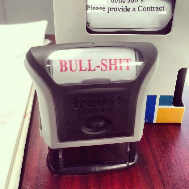 We make all sorts of self-inking stamps at Western Graphix. Lol