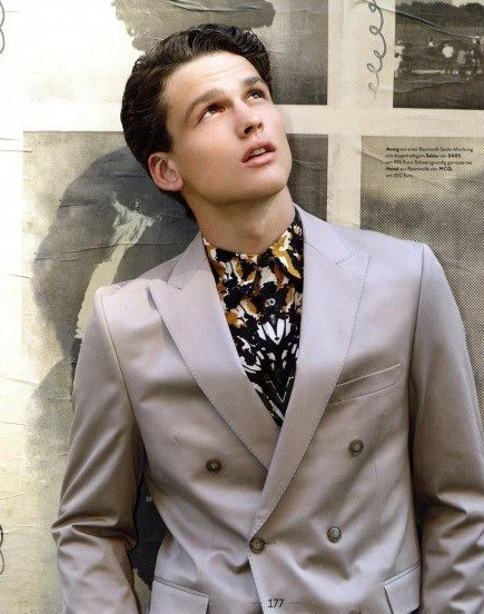 Simon Nessman by Diana Scheunemann for Men's Health Germany