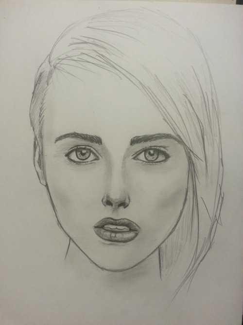 So I drew the stunning Alysha Nett
