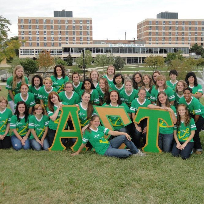 Alpha Sigma Tau • Delta Tau Chapter! submitted by: law-and-disorderrr