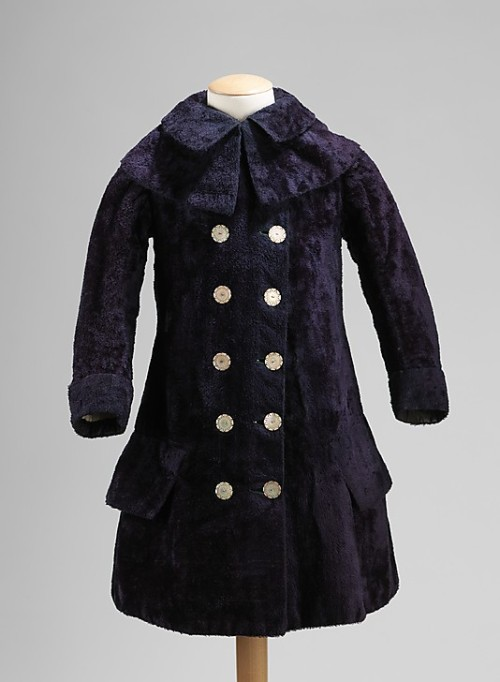 omgthatdress:  Girl's Coat 1882 The Metropolitan Museum of Art