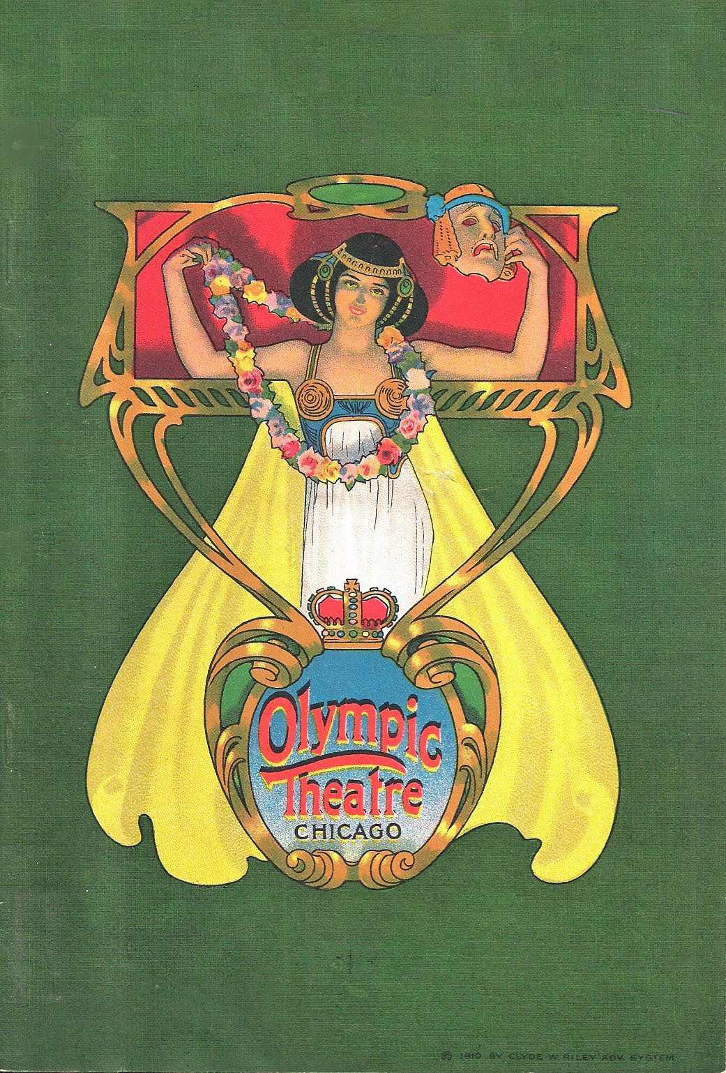 sydneyflapper:  Olympic Theatre program, 1920s