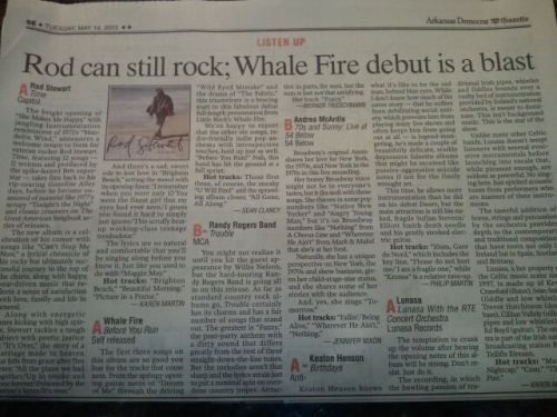 Before You Run album review- thanks Arkansas Democrat Gazette!