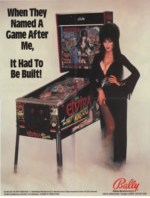 retrogasm:  One of my favorite pinball machines…  I want