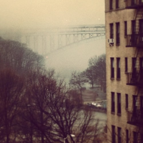 Henry Hudson Bridge hiding by @pauldub #instagramuptown #uptown #inwood #washingtonheights #nyc #newyorkcity #exloranyc #photography #art #local #community