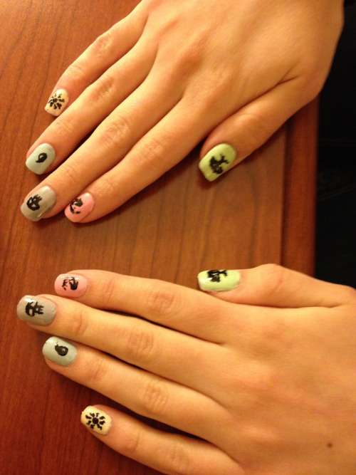 catclinton:  Nails for the weekend.
