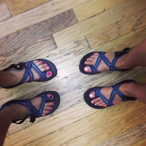 Same chacos. It's a real thrill! @appalachiaserviceproject