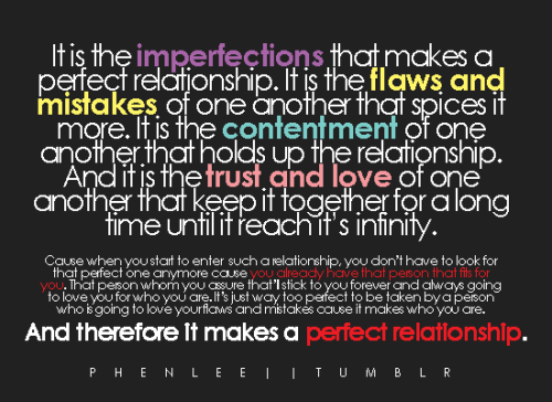 phenlee:  It is the trust and love of one another that keep it together for a long time until it reach it's infinity.