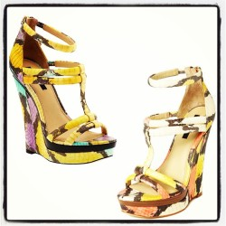 Which color Katia wedge (Spring '13) is your fave, left or right?
