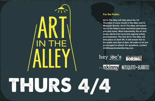 For more information about Art in the Alley, CLICK HERE.