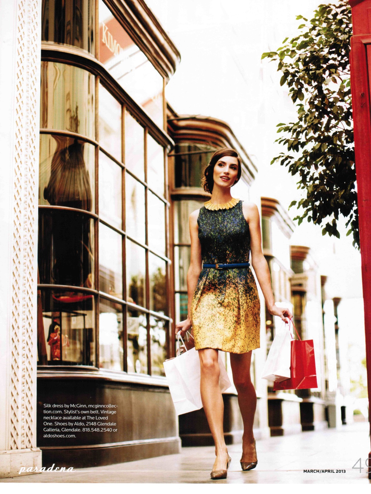 Brooke Ritchie in Pasadena Magazine! haircolor by Jared Gee haircut by Jennifer Audeon