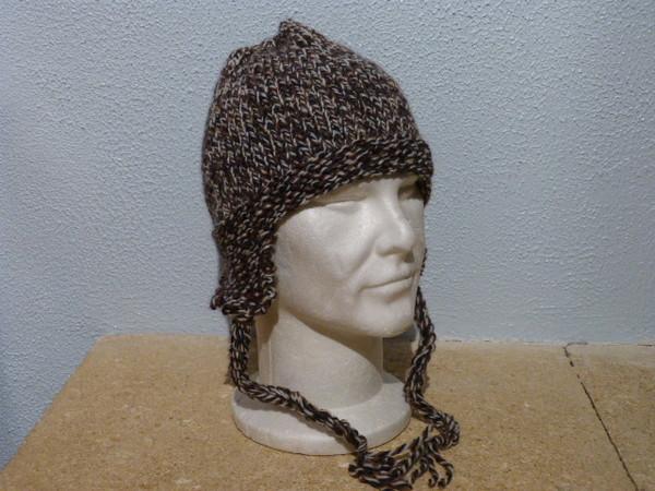tricoter bonnet peruvien