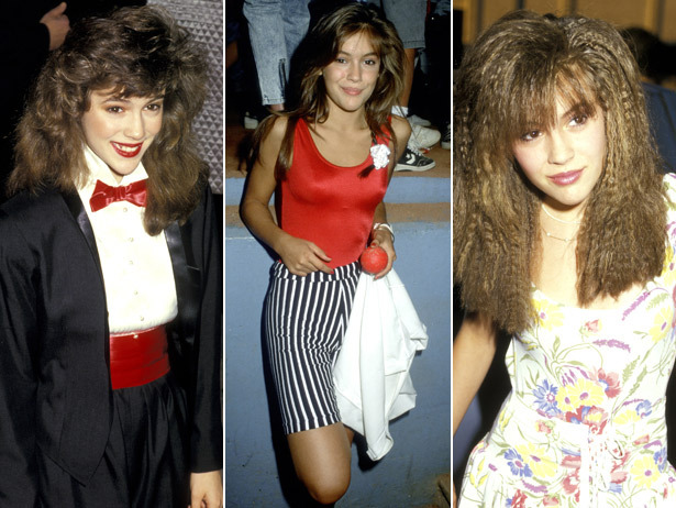 Happy Birthday Alyssa Milano!  We're celebrating your 40th with 20 vintage pics from your Who's The Boss era.