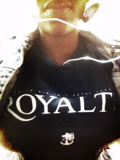 "establishedlife™ ROYAL Tee| Now In Stock  Get yours, stop by OTR Fresh Boutique (1307 Main, Cincinnati, OH)  ""Born to Win in a Royal Fashion"" • Strictly for the Boss of Self"