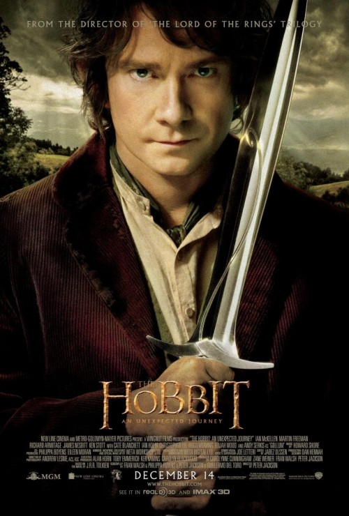 #132 The Hobbit: An Unexpected Journey (2012) Dir. Peter Jackson   My anticipation for The Hobbit has purposefully been kind of muted and mild. I love The Lord of the Rings trilogy and while I was over the moon that Jackson was returning to middle-earth to adapt it's prequel, there were various factors that had me skeptical. The whole trilogy structure, bloated running time etc. all just seemed like overkill and an over-ambitious reach to match what went before. But thankfully, the first part of The Hobbit satisfied me ten-fold. It may be close to Rings in terms of length but the scope and the story is still small and intimate, just as it should be. Understandably Jackson and his writing team have fleshed out the books subplots and side-characters to give the whole thing more weight but it never weighs the film down. Jackson slips back into his Tolkien shoes with ease reminding us once again that he is the master of large-scale CGI set pieces while also being adept at handling the softer, more comedic side of the story. Martin Freeman is the perfect Bilbo and he anchors the film with a warm heart amidst a chaotic (but never confusing) slew of new characters including dwarves, trolls, goblins and orcs while Ian McKellen and other Rings alumni return to give the whole thing a feel of authenticity and consistency. There was so much potential for embarrassing failure with this film but astoundingly, Jackson has avoided it at every turn with a thrilling adventure yarn. I am a believer again. Bring on The Desolation of Smaug!