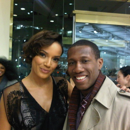 #tbt @selitaebanks and I at a @bcbgmaxazria & @harpersbazaarus event. #nyc #fashion #industry
