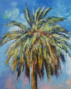 "creese:  ""Canary Island Date Palm"" by Michael Creese"