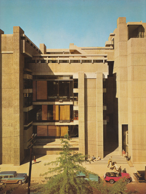 fuckyeahbrutalism:  Art & Architecture Building, Yale University, New Haven, Connecticut, 1958-63 (Paul Rudolph)