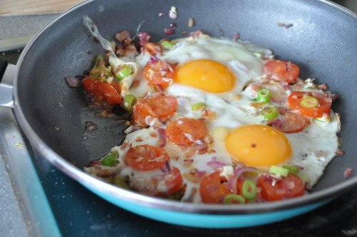 My Beautiful Breakfast Eggs :) Recipe can be found on my new food blog ^.^