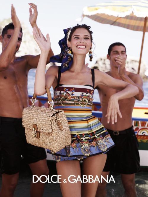 Model: Bianca Balti for Dolce & Gabbana