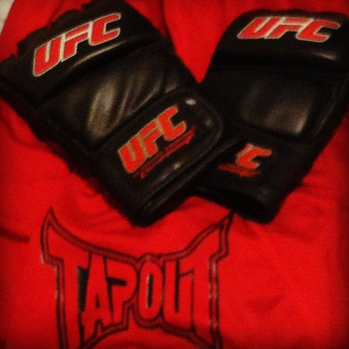 Found my gloves bout to start hitting the bag again