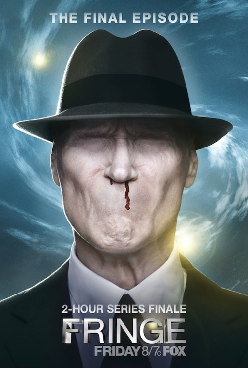 #FRINGE - The Final Episode poster (via Fringe – Il poster e un nuovo promo per il finale di serie (18 gennaio)! | Il blog di ScreenWeek.it)
