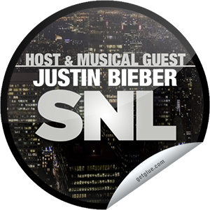 I just unlocked the Saturday Night Live: Justin Bieber sticker on GetGlue                      2753 others have also unlocked the Saturday Night Live: Justin Bieber sticker on GetGlue.com                  This beauty has a beat and is taking over the SNL stage. Thanks for watching Justin Bieber as the host and musical guest of Saturday Night Live tonight! Share this one proudly. It's from our friends at NBC.