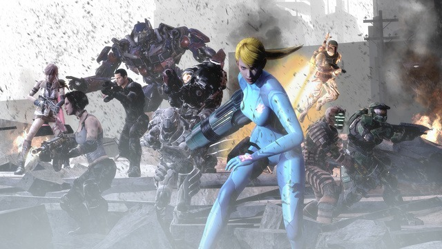 YEAAAHHHHH SAMUS AT THE FOREFRONT