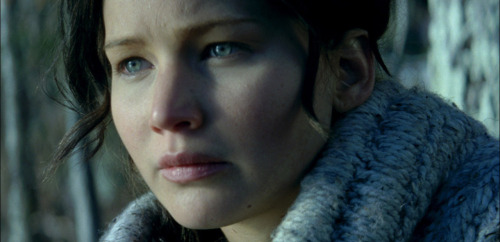 "jenniferlawrencedaily:  Katniss Everdeen Catching Fire still revealed!  ""If it were up to me, I would try to forget the Hunger Games entirely. Never speak of them."""