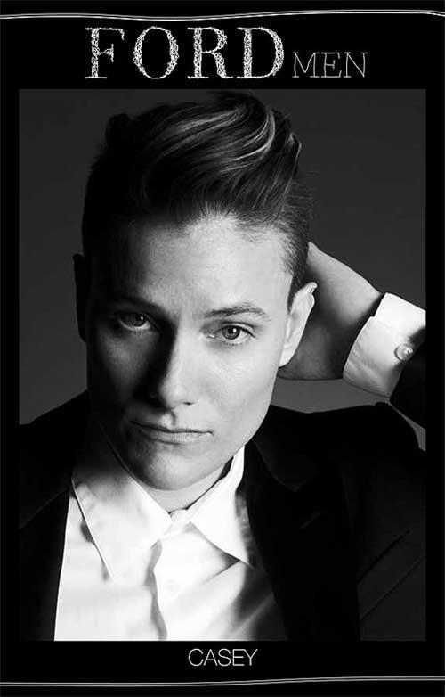 Model Casey Legler - the first woman to be exclusively signed to Ford Models' men's division - shares the second installment of her fashion week diary with us.