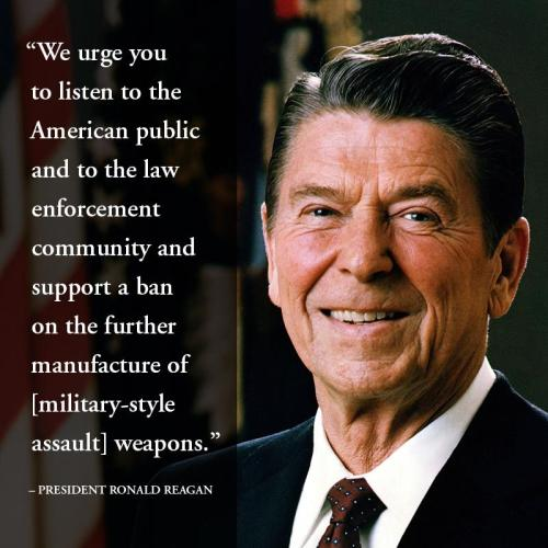 randomness-from-thisoldguy:  Ronald Reagan on gun control …wow, never thought I would quote Reagan on anything…