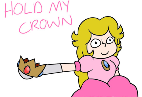 insanelygaming:  Princess Peach holdin' it down