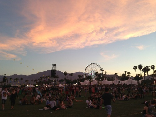 Coachella 2013, no need to say more.
