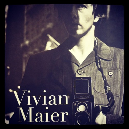 #VivianMaier #StreetPhotographer to be followed by #SelfPortrait.  Releases Fall '13.
