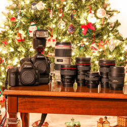 A Canon Christmas 1X1 Version.