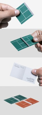 Playful business cards are cool