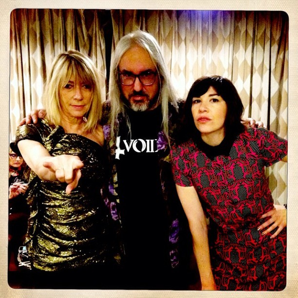 thatcoolbandpic:  Kim Gordon, J Mascis and Carrie Brownstein