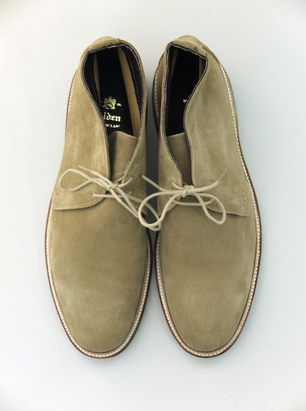 Alden Unlined Chukka Boot.