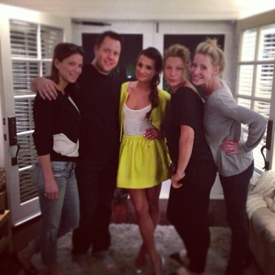 That was so fun @msleamichele @marktownsend1 @melaniemakeup #Lani ❤ Love getting #redcarpet #ready! 👠💅💄💇