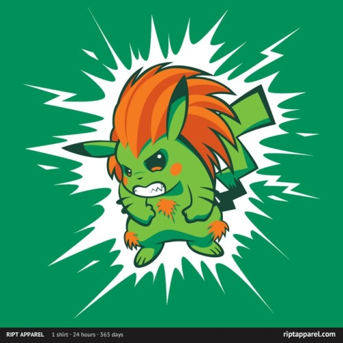 gamefreaksnz:  Blankachu by Brinkerhoff USD $10 for 24 hours only
