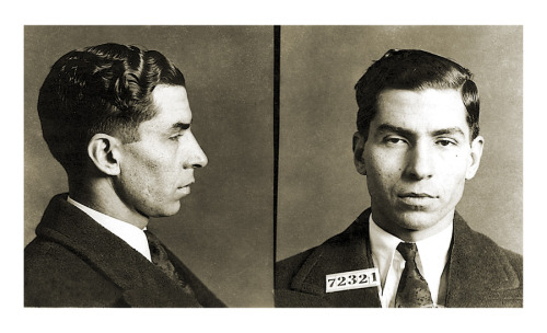 Young Charlie Lucky Luciano Nyc Manhattan Gangster