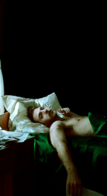 "slowartday:  Stefan Brockett, ""The Artist in Repose"""