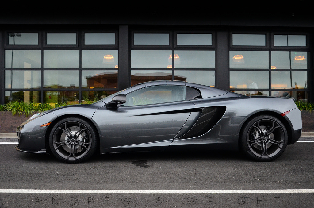 fullthrottleauto:  MP4-12C Spider (by AESDUB)