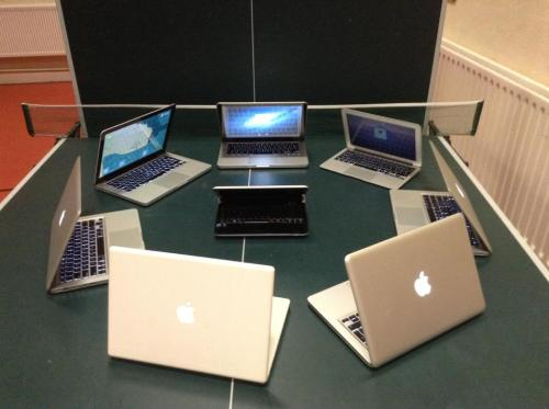 Cyber bullying… this is how it feels everytime I walk into a Starbucks with my battered old PC laptop (via Scope)