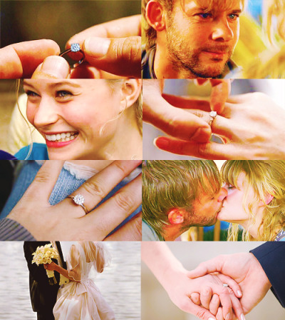 dean-on-a-plane:  LOST AU   Charlie proposes to Claire.