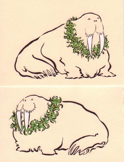All Walrus Xmas cont.