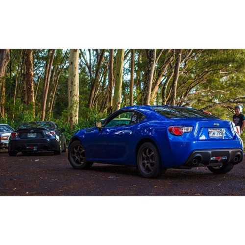 From yesterday. #canon #60d #tantalus #subaru #brz #zc6 #scion #scionfrs #frs #toyota #gt86 #zn6 #wedssport #sa90 #ft86club #brzworld #rawdriving #86life #frs86 #hawaii  (at Tantalus)