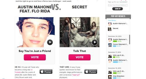 "ztotheinger:  Vote for Secret's ""Talk That"" HERE!! (Note: I had to use Mozilla Firefox to vote because it wouldn't work in Chrome)"
