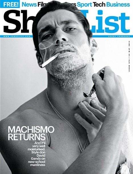 "officialdavidgandy:  ""Smokin' Hot"" David Gandy on the cover of @ShortList by David Goodman"